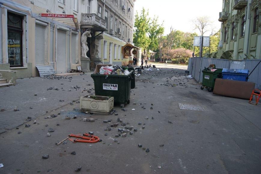 Фоторепортаж: Утро после адской пятницы в Одессе, фото-27
