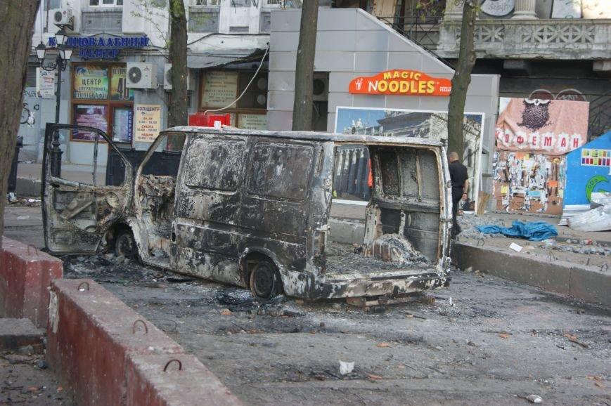 Фоторепортаж: Утро после адской пятницы в Одессе, фото-19
