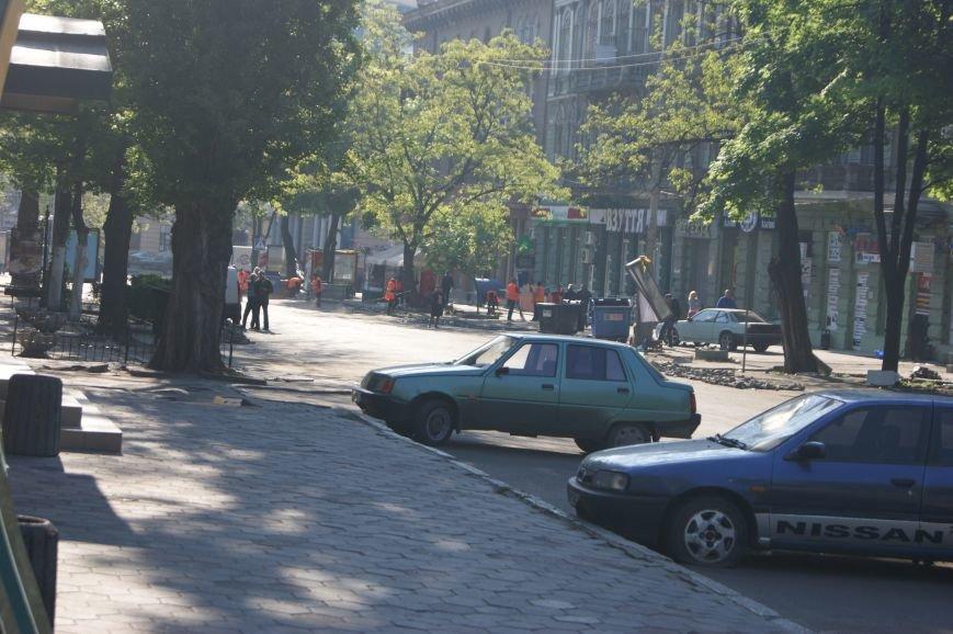 Фоторепортаж: Утро после адской пятницы в Одессе, фото-33