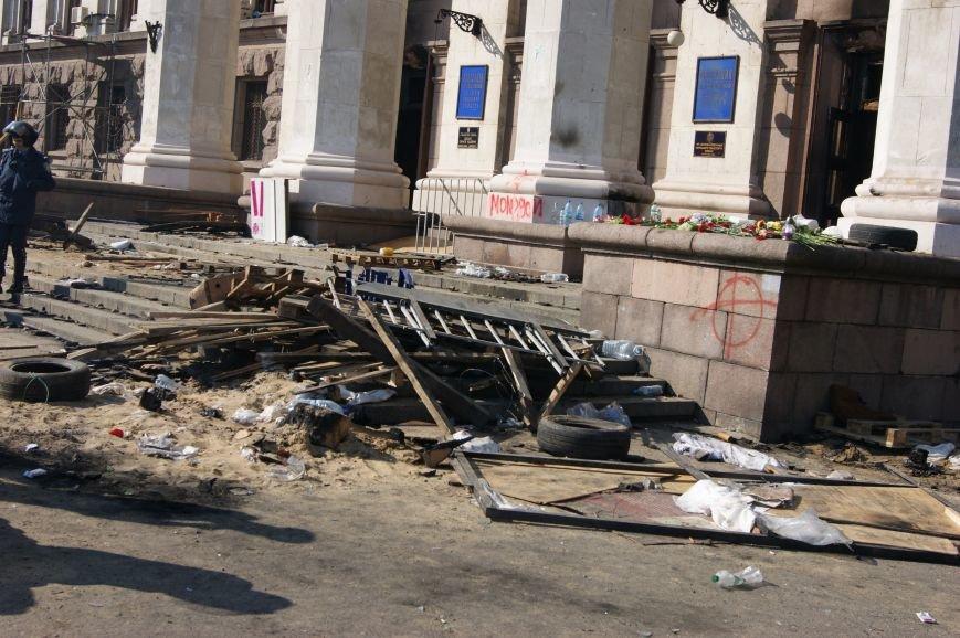 Фоторепортаж: Утро после адской пятницы в Одессе, фото-56