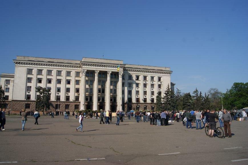 Фоторепортаж: Утро после адской пятницы в Одессе, фото-61
