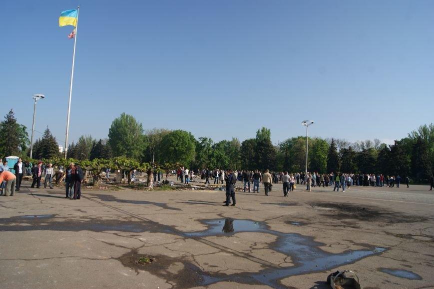 Фоторепортаж: Утро после адской пятницы в Одессе, фото-42