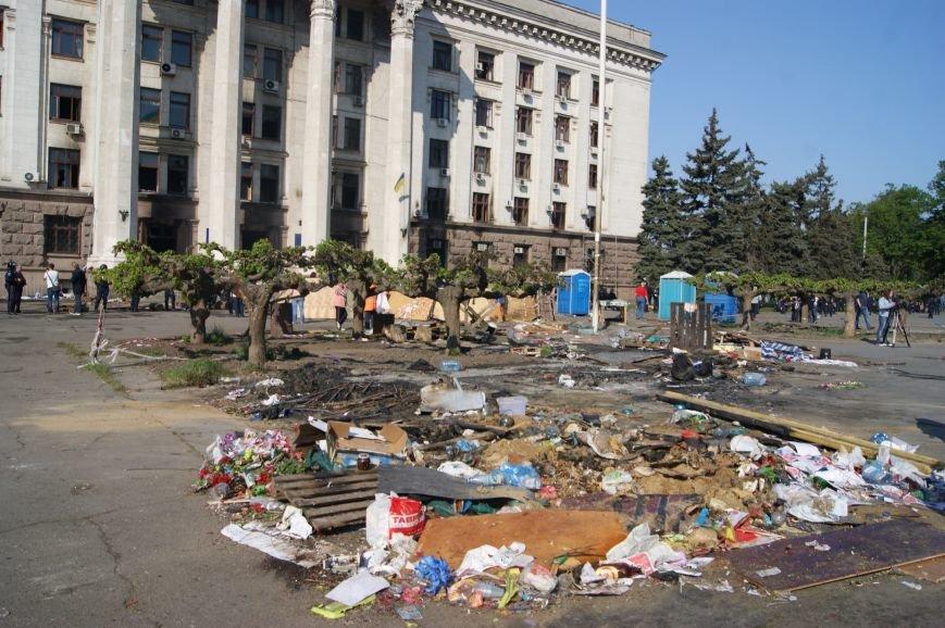 Фоторепортаж: Утро после адской пятницы в Одессе, фото-57