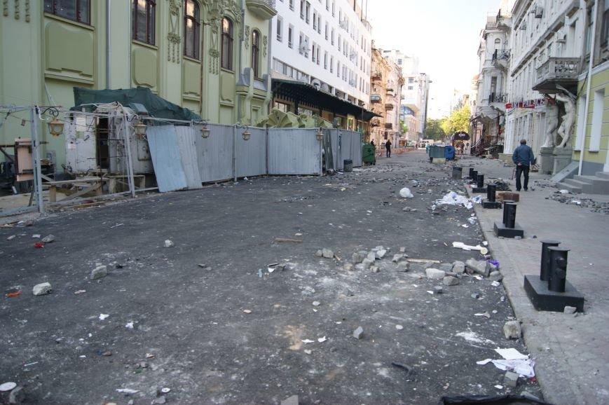 Фоторепортаж: Утро после адской пятницы в Одессе, фото-29