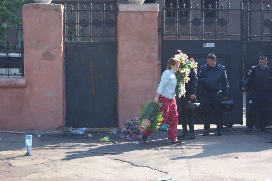 Фоторепортаж: Утро после адской пятницы в Одессе, фото-47