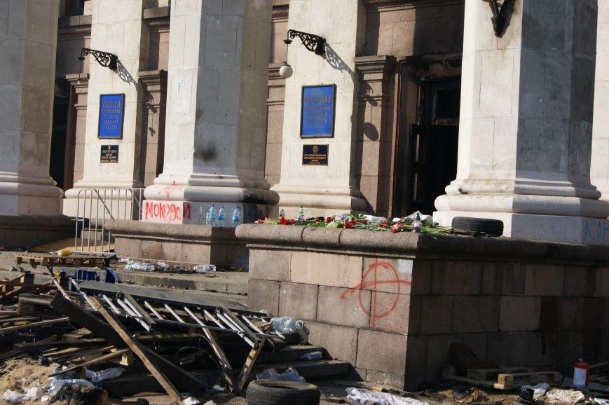 Фоторепортаж: Утро после адской пятницы в Одессе, фото-36