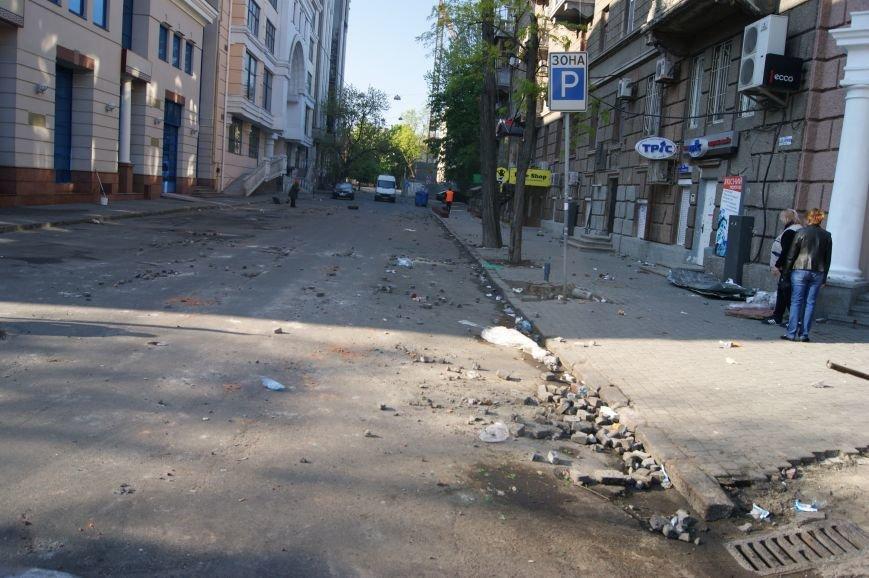 Фоторепортаж: Утро после адской пятницы в Одессе, фото-25