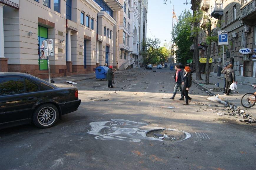 Фоторепортаж: Утро после адской пятницы в Одессе, фото-5