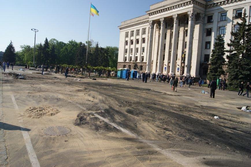 Фоторепортаж: Утро после адской пятницы в Одессе, фото-35