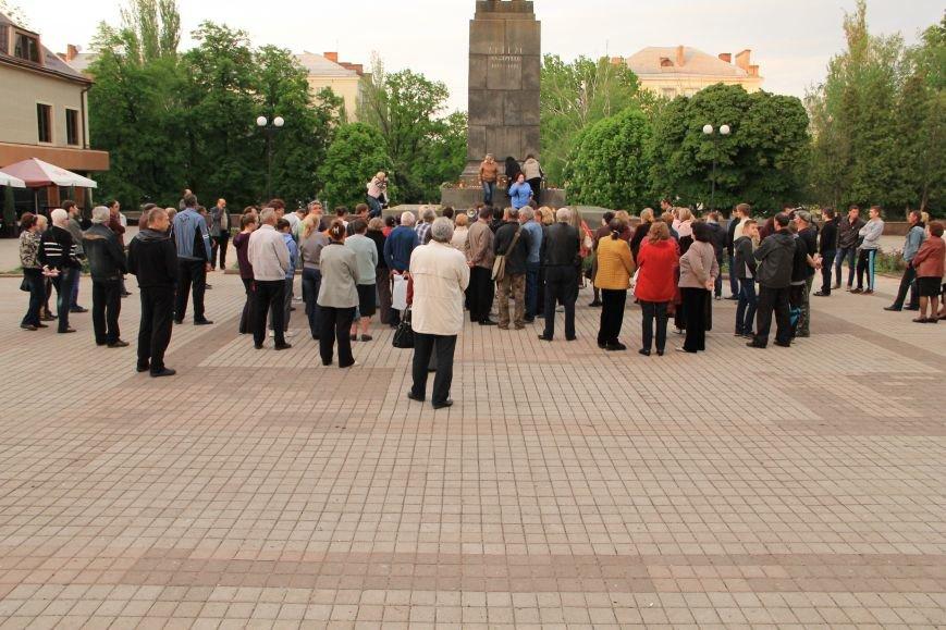 В Артемовске почтили память погибших донетчан и одесситов (ФОТО), фото-9
