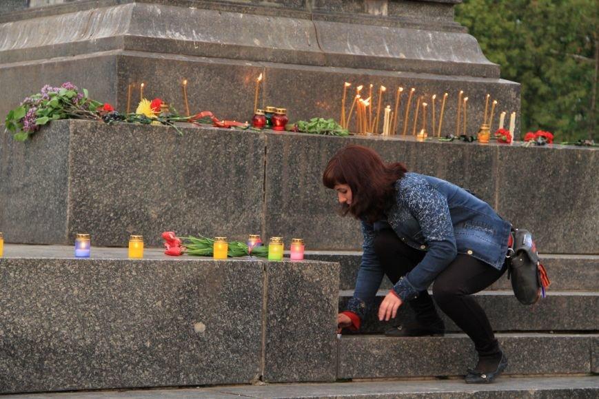 В Артемовске почтили память погибших донетчан и одесситов (ФОТО), фото-10