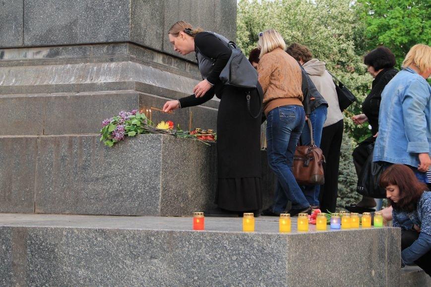В Артемовске почтили память погибших донетчан и одесситов (ФОТО), фото-8