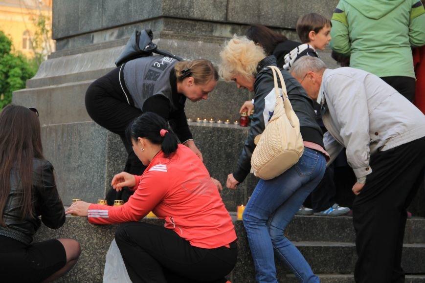 В Артемовске почтили память погибших донетчан и одесситов (ФОТО), фото-1