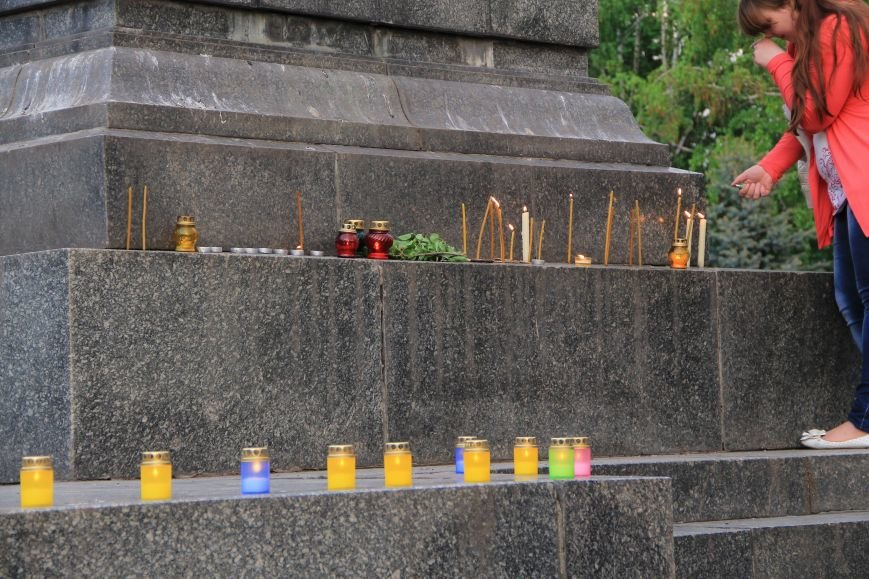 В Артемовске почтили память погибших донетчан и одесситов (ФОТО), фото-5