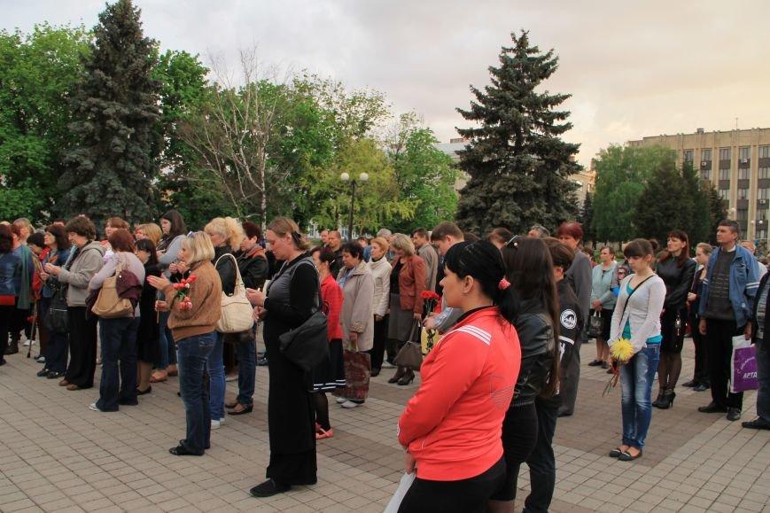 В Артемовске почтили память погибших донетчан и одесситов (ФОТО), фото-6