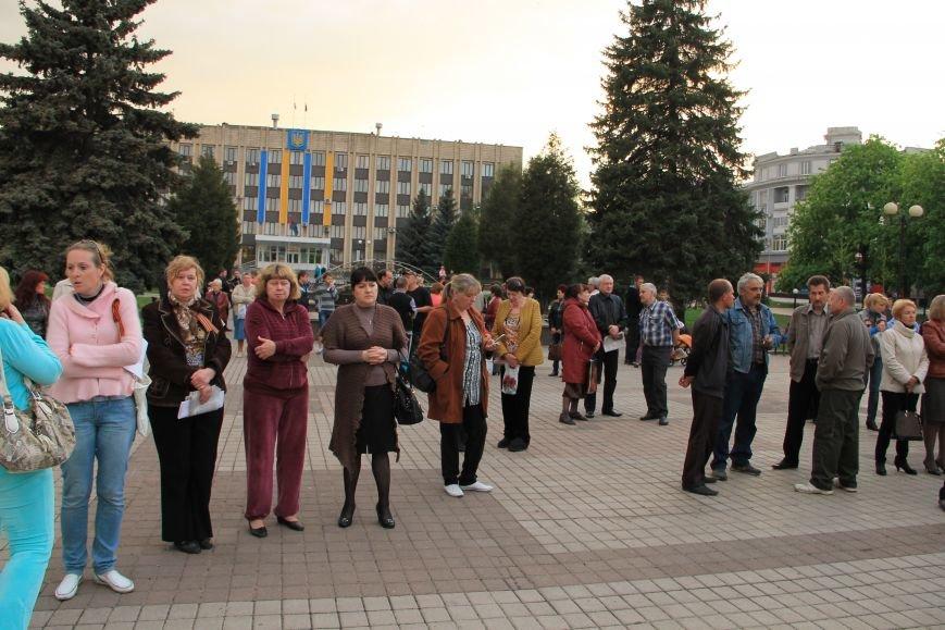 В Артемовске почтили память погибших донетчан и одесситов (ФОТО), фото-3