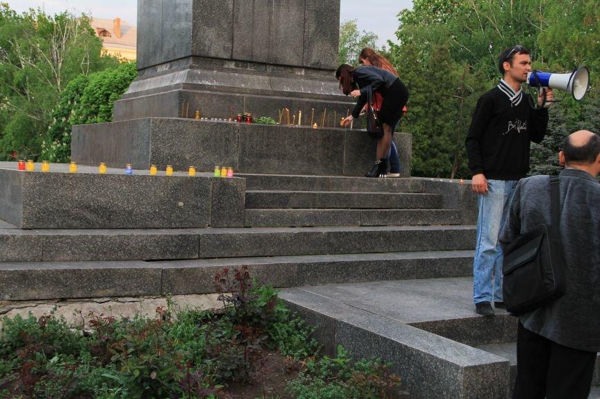 В Артемовске почтили память погибших донетчан и одесситов (ФОТО), фото-4