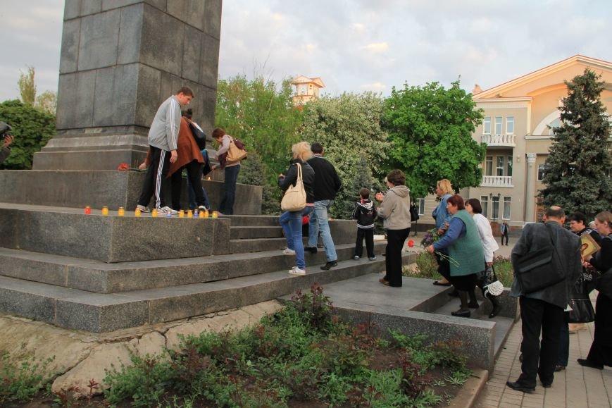 В Артемовске почтили память погибших донетчан и одесситов (ФОТО), фото-7