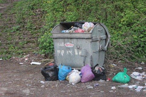У тернопільському парку камера стежить за переповненим смітником (фото), фото-2