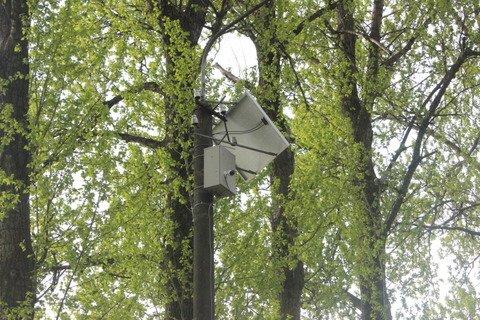 У тернопільському парку камера стежить за переповненим смітником (фото), фото-4