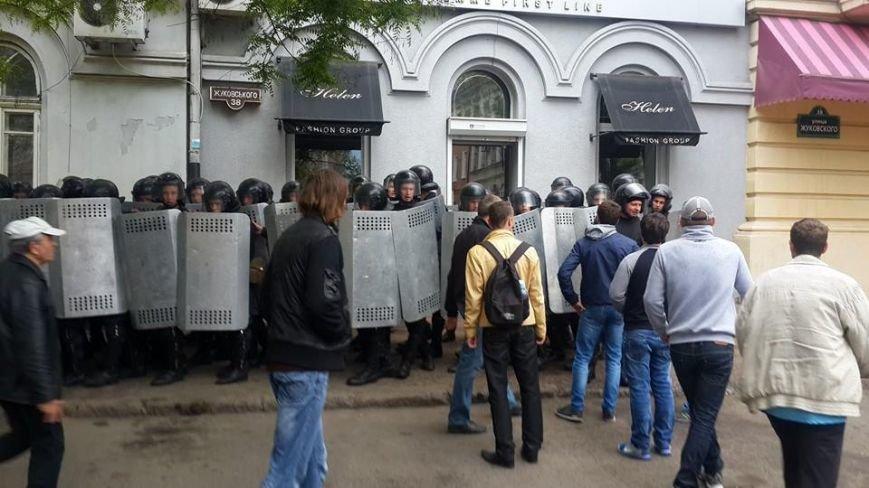 В Одессе штурмуют здание горУВД (ФОТО, ИНФОРМАЦИЯ ОБНОВЛЯЕТСЯ), фото-7