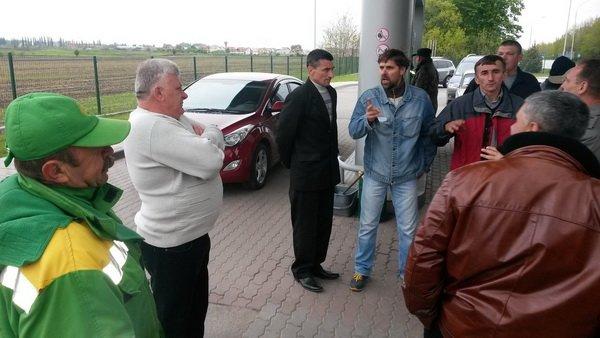 На Тернопільщині відбувся попереджувальний пікет проти підняття цін на бензин (фото), фото-1