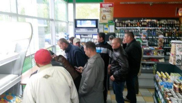 На Тернопільщині відбувся попереджувальний пікет проти підняття цін на бензин (фото), фото-4