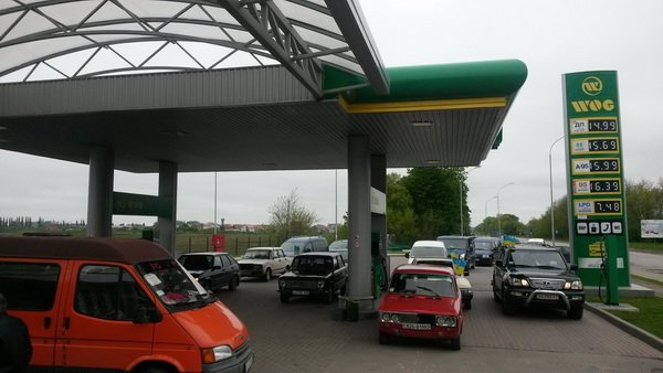 На Тернопільщині відбувся попереджувальний пікет проти підняття цін на бензин (фото), фото-3