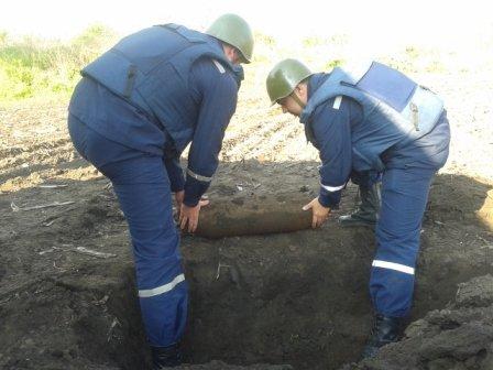 На Кировоградщине обнаружили бомбу (фото), фото-1