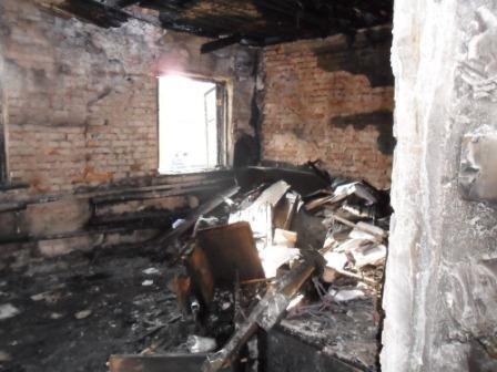 На Кировоградщине горела государственная администрация, фото-1