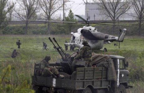 Українські силовики повністю оточили Слов'янськ (відео), фото-1