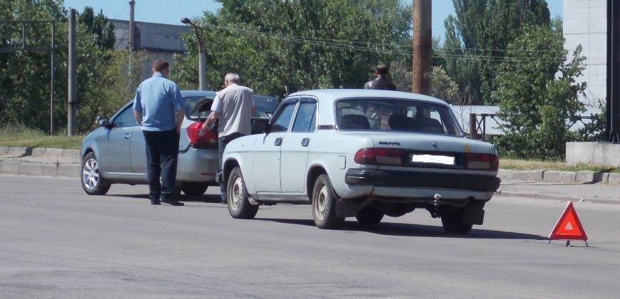 На мосту в Кировограде столкнулись два автомобиля, фото-1