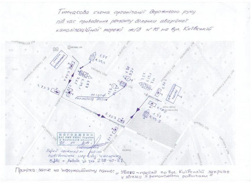 схема закр вул.Київської