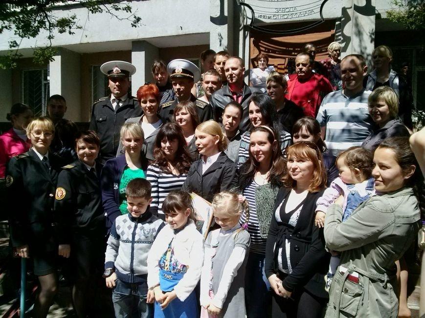 На Николаевщине Тимошенко пообещала детям крымских военных, что они обязательно вернутся домой (ФОТО) - обновлено, фото-5