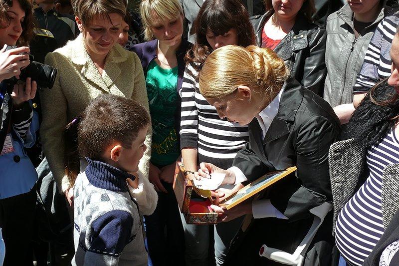 На Николаевщине Тимошенко пообещала детям крымских военных, что они обязательно вернутся домой (ФОТО) - обновлено, фото-4