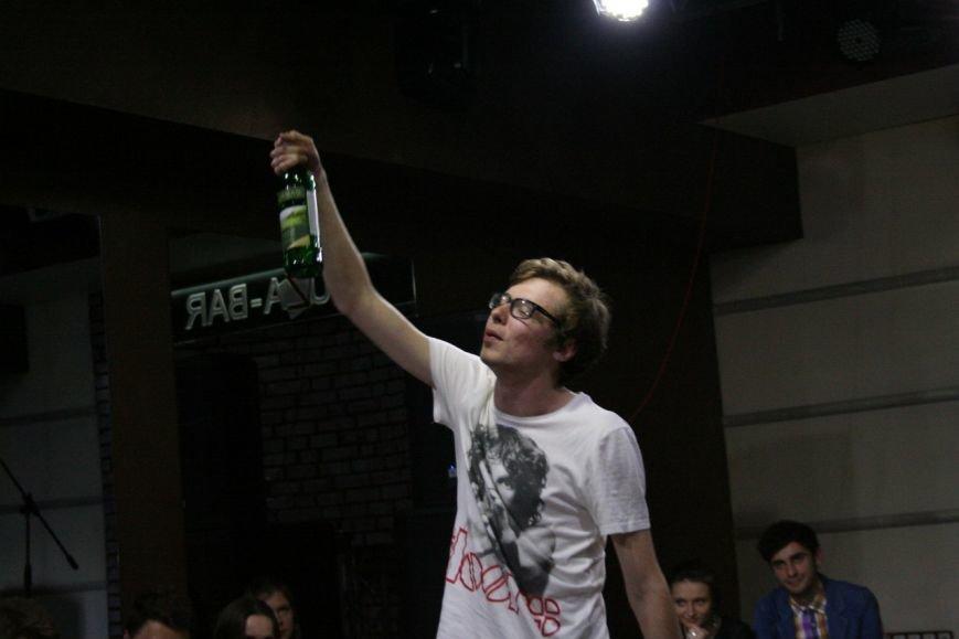 Денис Стерн в ролі п'яниці