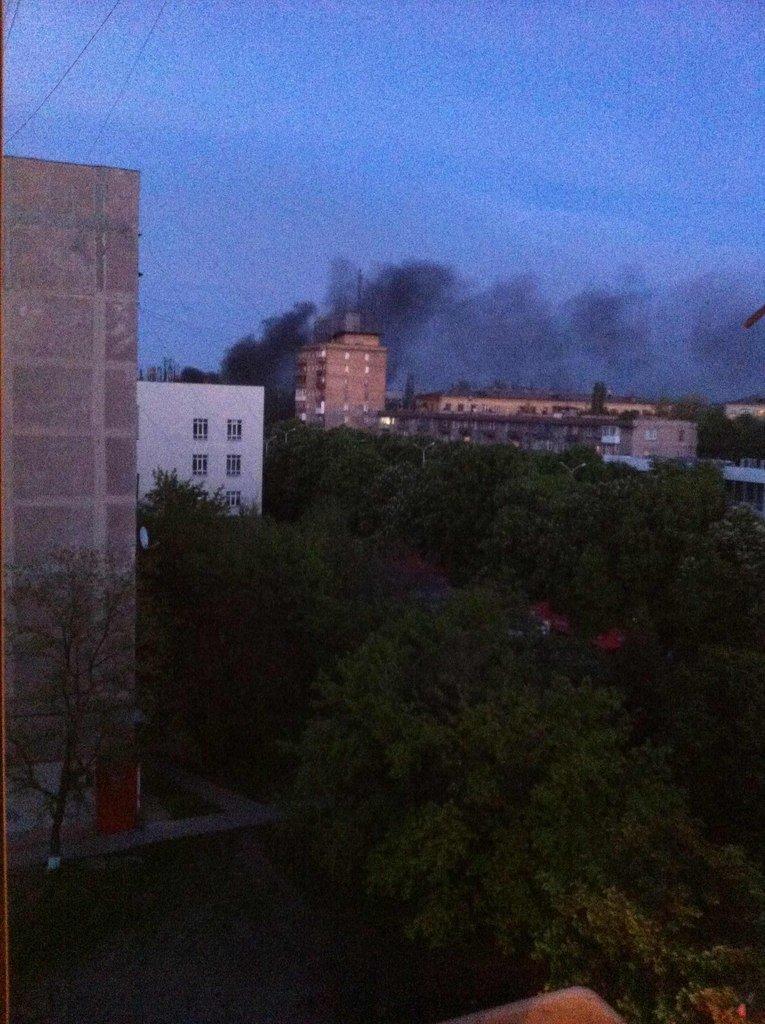 В Мариуполе начались военные действия? (ФОТО+ОБНОВЛЯЕТСЯ) (фото) - фото 1