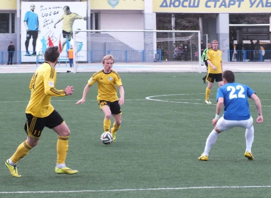 Ульяновская «Волга» одержала волевую победу над «Зенитом», фото-4