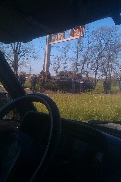 В Мариуполь вошли танки (ФОТО+ВИДЕО), фото-9