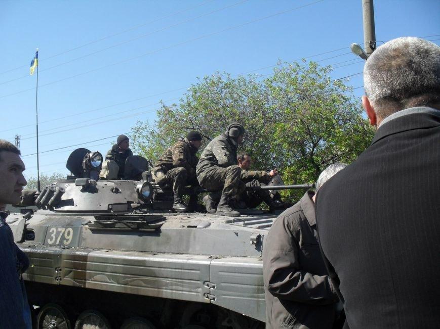 В Мариуполь вошли танки (ФОТО+ВИДЕО), фото-5