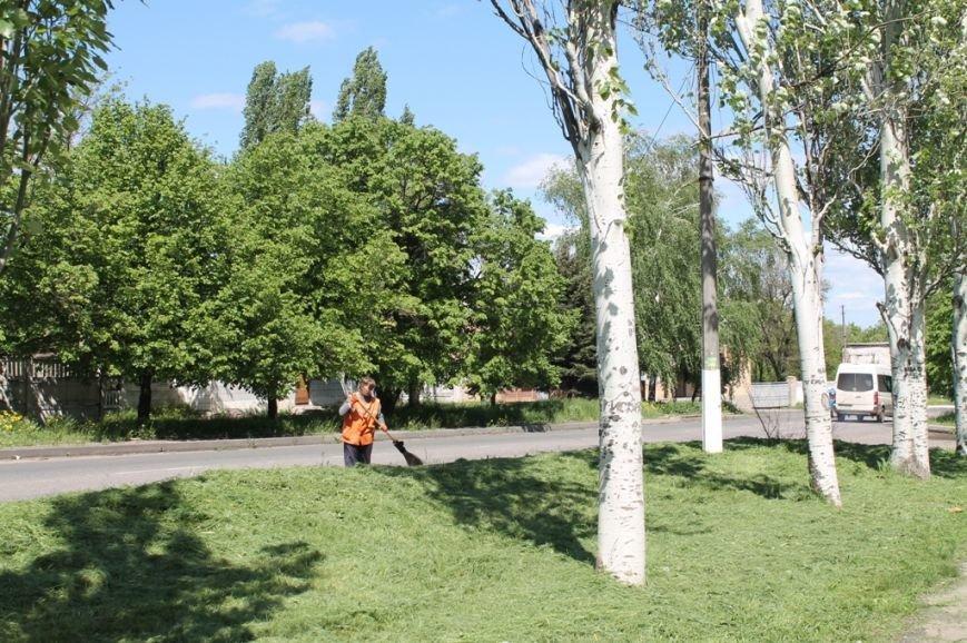 В Артемовске начался массовый покос травы. Горожан просят присоединиться, фото-1