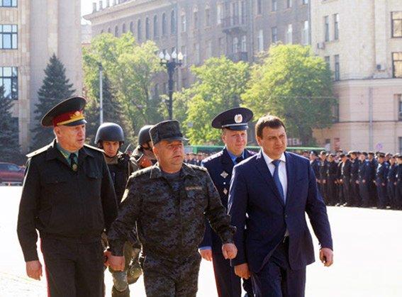 Порядок в Харькове ежедневно будут охранять около пяти тысяч милиционеров, фото-1