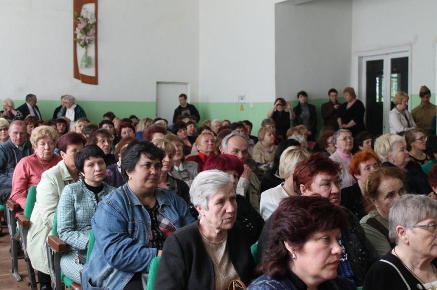 В Артемовске поздравили ветеранов войны и ветеранов педагогического стажа, фото-11