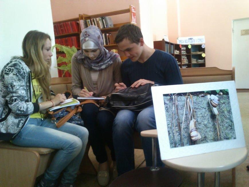 Окно в мир, открывали в Днепродзержинской центральной библиотеке им. Т. Г. Шевченко, фото-7
