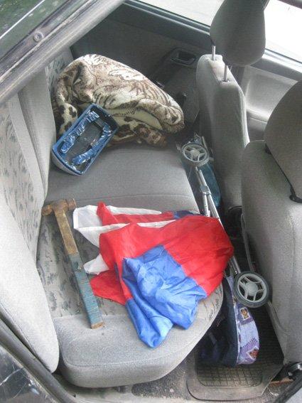 Мужчина хотел провезти в Харьков «снаряжение» для массовых акций, фото-5