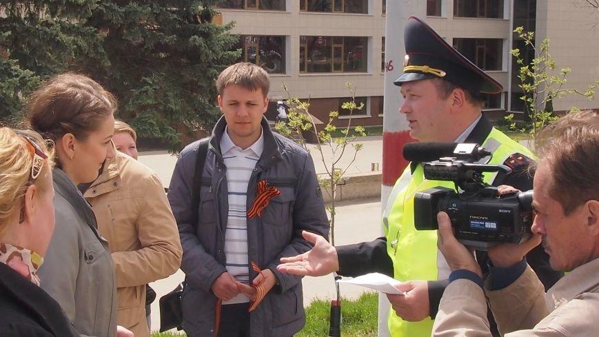 В Ульяновской области прошла акция «Георгиевская ленточка», фото-1