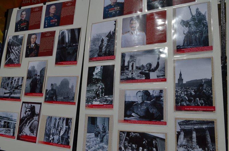 ФОТОРЕПОРТАЖ: В Симферополе раздают «георгиевские ленточки» и тексты писем военнопленных, фото-5