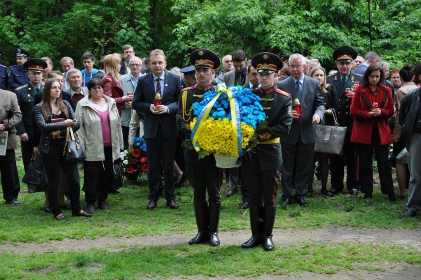 Як у Львові вшановували пам'ять загиблих під час Другої світової війни (ФОТОРЕПОРТАЖ), фото-2