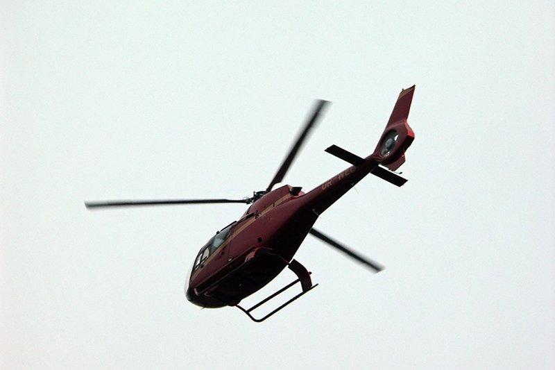 Над центральной площадью в Николаеве все утро кружил вертолет (ФОТО), фото-3