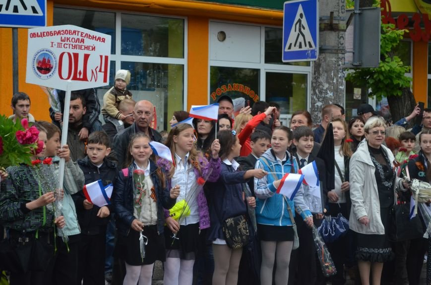 Дождь не помешал провести парад Победы в Симферополе (ФОТО, ВИДЕО), фото-4
